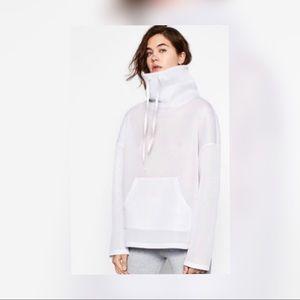 Zara mesh hoodie new
